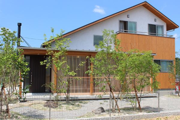 波佐見町のモデルハウス(森の舎)
